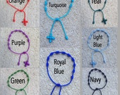 Style 1 - Handmade Knotted Rosary Bracelet - now in 42 colors