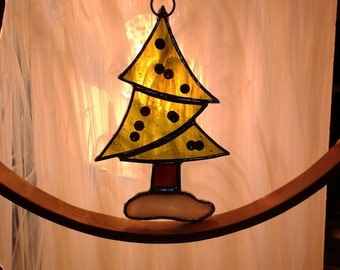 SOLD - Christmas tree suncatcher