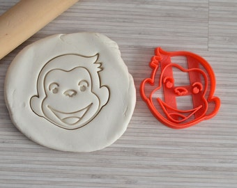 Curious Georges cookie cutter