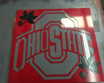 Ohio State Logo sign OSU Football