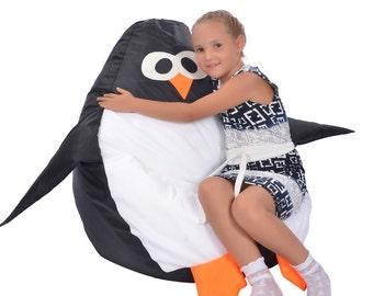 Penguin Bean bag, Kids' Bean Bag Chairs, Children bean bag