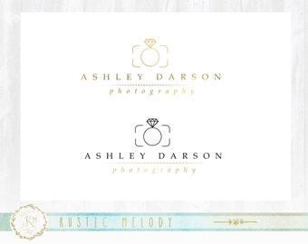 Wedding Photography Logo , Photography Logo, Baby Logo, Boutique Logo ,Events Logo, Decor Logo, Gold Foil Logo, Modern Logo ,Watermark