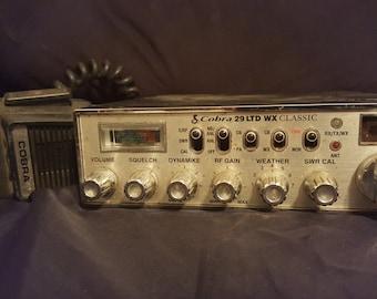 Cobra 29 LTD WX classic Vintage cb radio