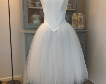 Stunning professional romantic ballet tutu/ retro wedding dress.