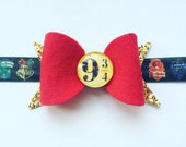 Harry Potter Gryffindor Bow - Photo Prop - Harry Potter Adult or Baby Bow