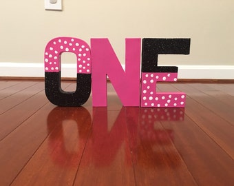 Minnie Mouse Inspired Letters - Price is per letter