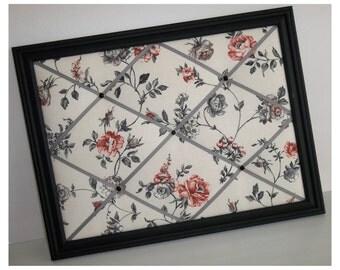 Red & Black Rose Framed Photo Memo Board