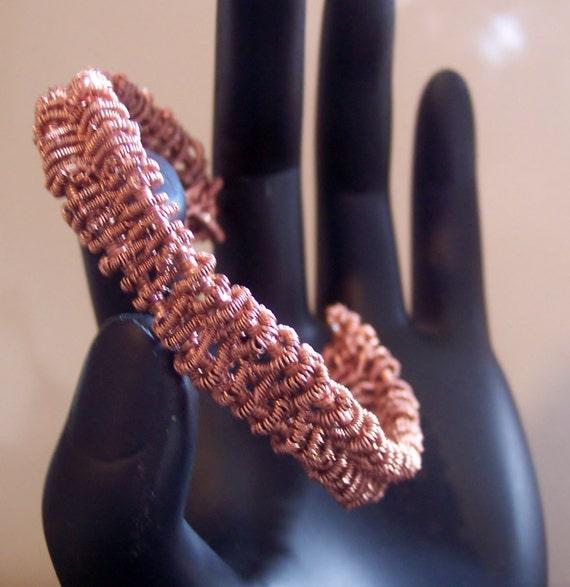 Wire wrapped copper cuff bracelet, copper cuff bracelet,hand wired wrapped copper cuff bracelet, unisex copper cuff bracelets, bracelets