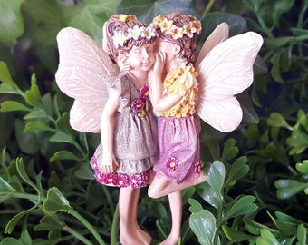 Miniature Fairies Kennedy and Megan