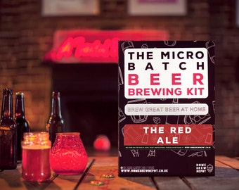 The Micro Batch Beer Brewing Kit - The Red Ale