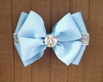 Disney Inspired Cinderella Hair Bow