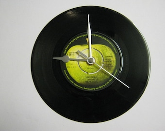 "The Beatles - ""Something"" Record Wall Clock"
