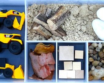 Construction Sensory Play Kit