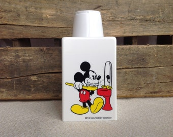 Mickey Mouse bathroom solo Dixie cup dispenser