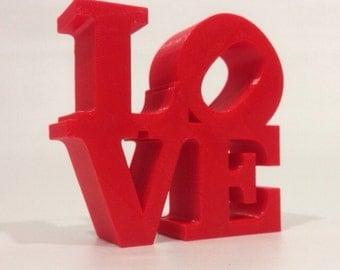 LOVE Word Statue