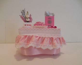 Handcrafted Miniature Decorated Party Table