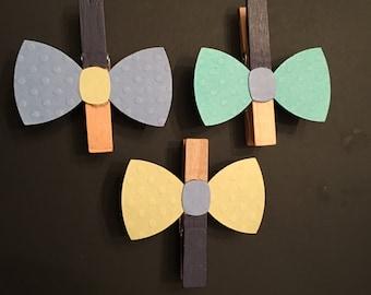 Bow ties pins