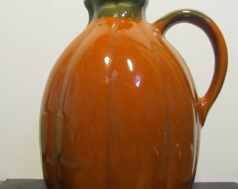 vintage clay pitcher