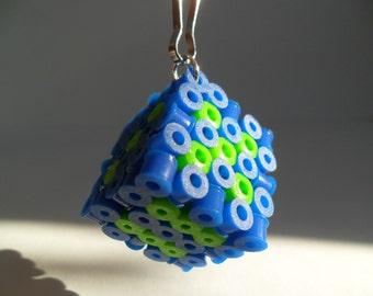 Perler Bead Die Keychain