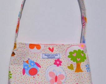 Forest Animals 'Isabella' Girls Bag, small bag, handmade bag, girls purse