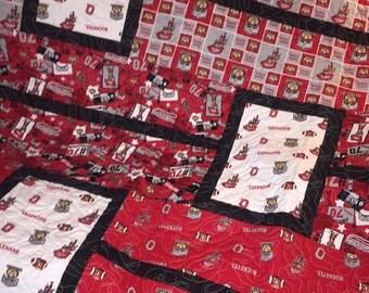 Ohio State quilt