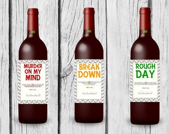 Custom Wine Label for Mom/Mom Friend
