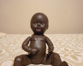 "rosebud 6"" black  baby doll"