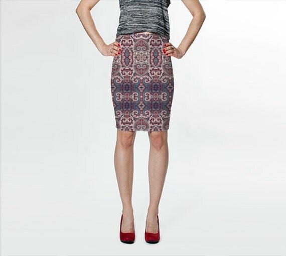 Helen Fitted Skirt