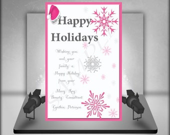 Mary Kay Holiday Postcard