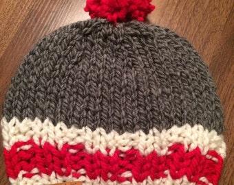 foulard infini de type bas de laine par calmetoilepompon sur etsy. Black Bedroom Furniture Sets. Home Design Ideas