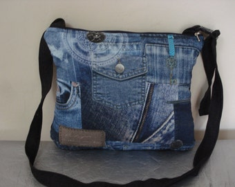 bag shoulder bag denim