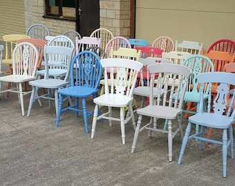 The Home Of Hand Painted Vintage and Brand New Farmhouse kitchen Chairs