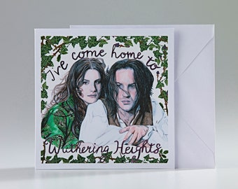 Wuthering Heights Greetings Card