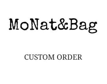 Custom storage bag