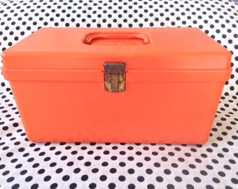1960's~Wilson Sewing Box w/ Divided Tray Insert~USA