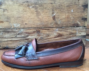 Vintage Cole - Haan Leather loafers with Tassles