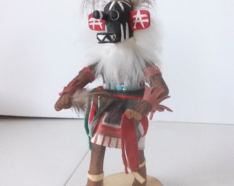 Original Hand Made Hopi War God Kachina