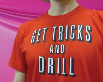 Get Tricks - 100% Ring-Spun Cotton Men's / Unisex Shirt - Made in USA