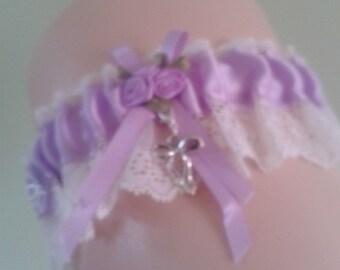 Personalised Wedding Garters. Made to order.