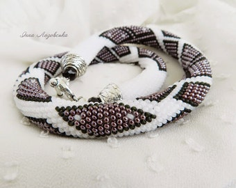 "Necklace """"Secrets of the Snow"""""