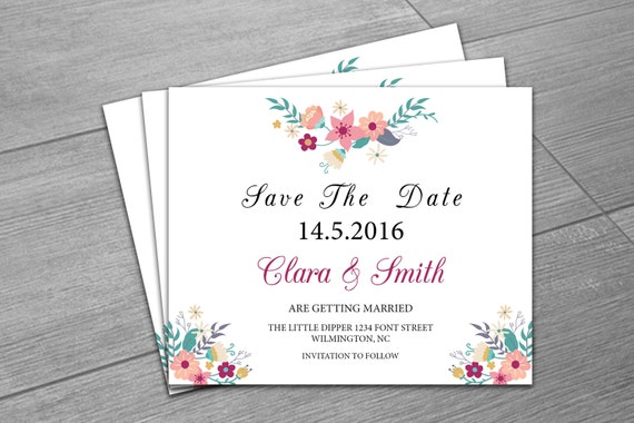 items similar to sale   wedding save the date template
