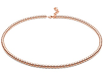 Ball chain • small • Rosé gold