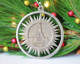Phoenix Arizona Temple Christmas Ornament
