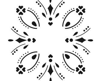 Ornament for DIY Printable card