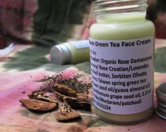 Taiwan Green Tea Face Cream
