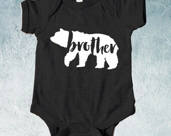 Brother Bear Onsie , Baby Boy T-shirts, Baby Boy Shower Gift, Gift for Newborn Baby Boy, Gift for Toddler, Gift for baby boy