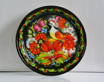 """Decorative plate on the wall, """"Сuckoo"""""""
