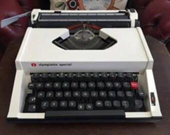 Vintage Olympia Olympiette Special Typewriter