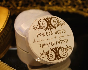 Vanity Powder by Theater Potion Natural Bath Powder, dusting powder, essential oils, natural dusting powder