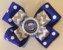 Kansas City Royals Hairbow
